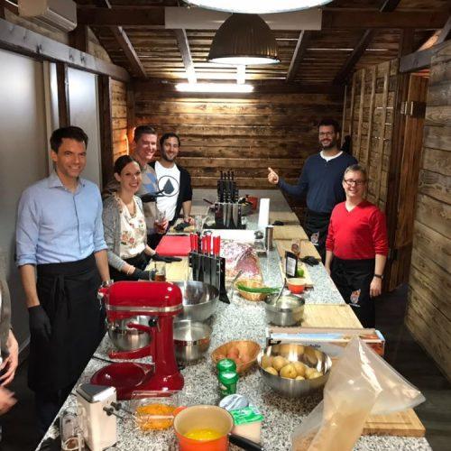 Gruppenbild Küche